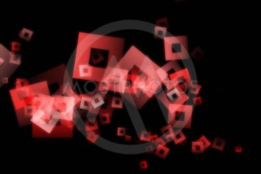 Powerful abstract square background design illustration