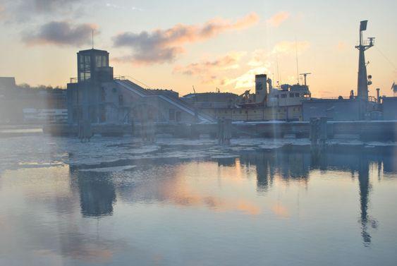 Gothenburg Älvstranden winter