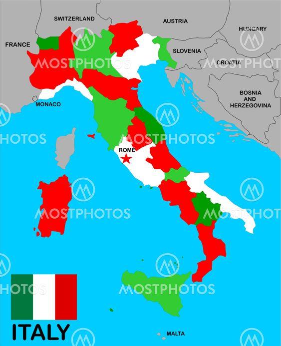Tudor Antonel Adrian N Kuva Italia Kartta Mostphotos