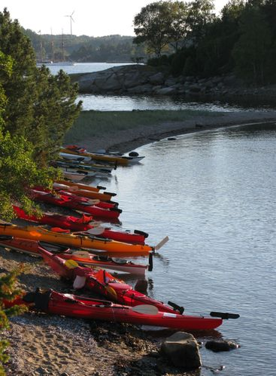 Kayak expedition in Bohuslän