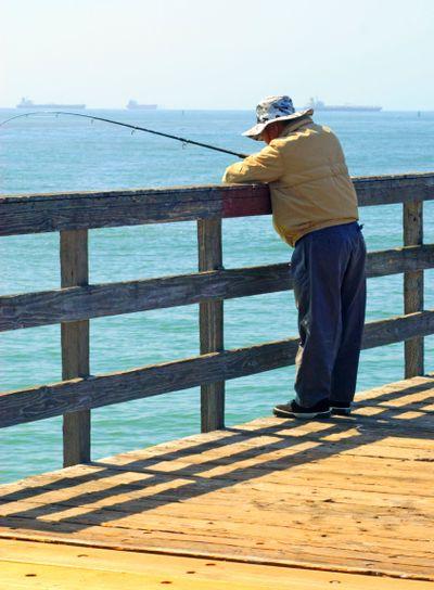 Fishing off Pier