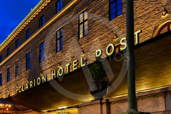 Clarion hotel post