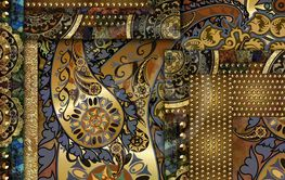 vintage old abstract patterned background