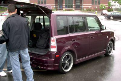 Purple Scion Xb