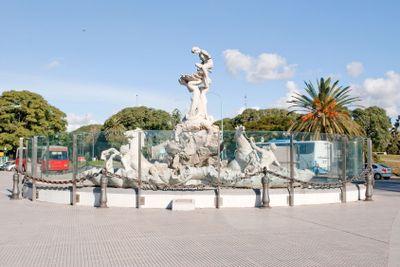 Monument Lola Mora, Buenos Aires, Argentina