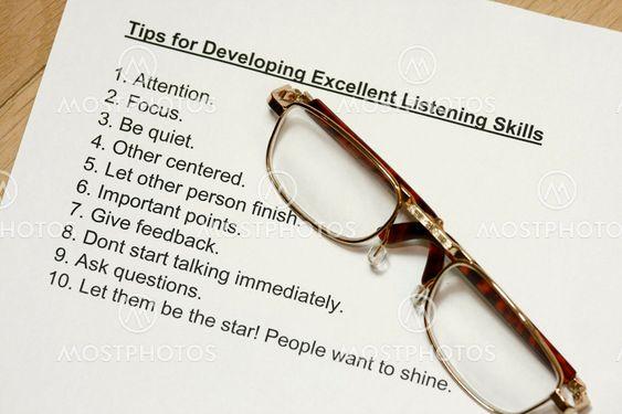 Tip om at udvikle fremragende lyttende færdigheder