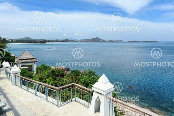 Beautiful landscape. Samui island, Thailand