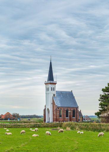 Church Den Hoorn Texel, Netherlands
