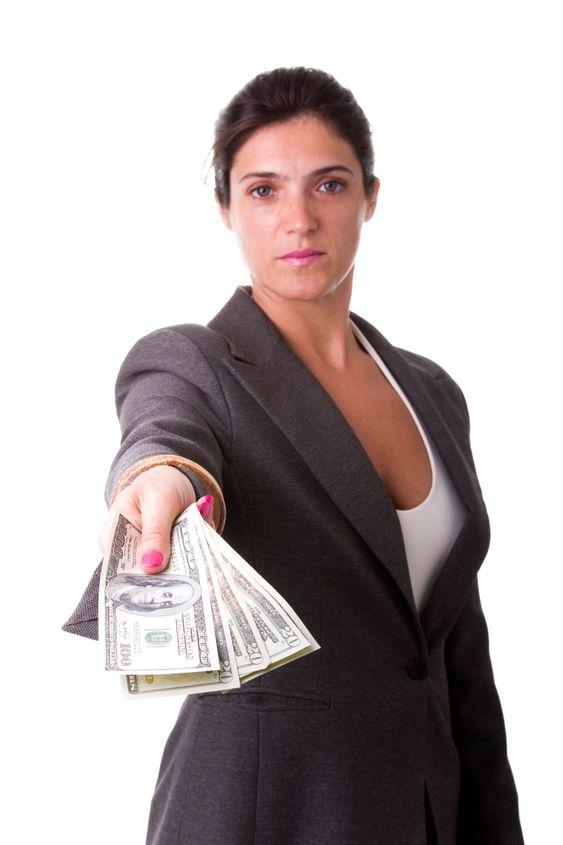 Millionær Forretningskvinde
