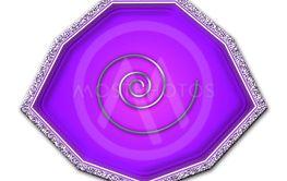 Purple design element