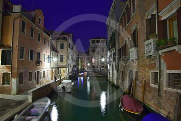 italy,venice : san marco by nigh