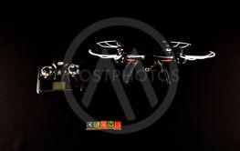 Modern Technology Copter closeup Aircraft Drone