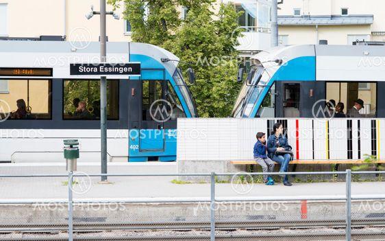 Stora Essingen - Spårvagnshållplats
