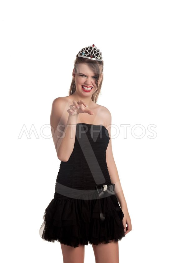 hot babe with crown