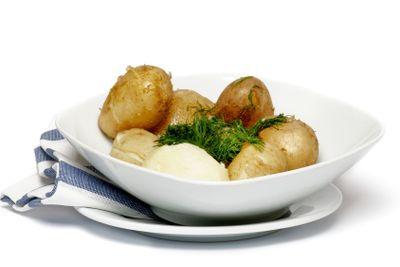 New Potato Boiled