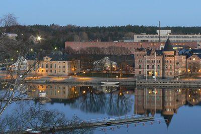 Gustavberg harbour