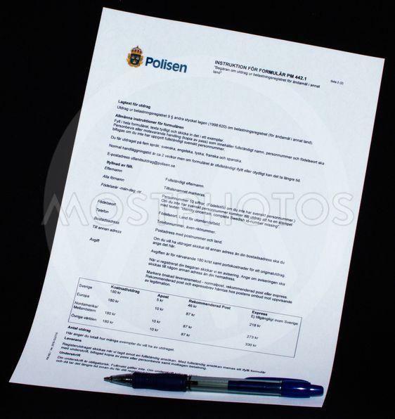 Utdrag ur belastningsregistret skola