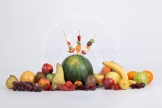 Assortment of fruit