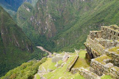 Terraced Fields in Machu Picchu