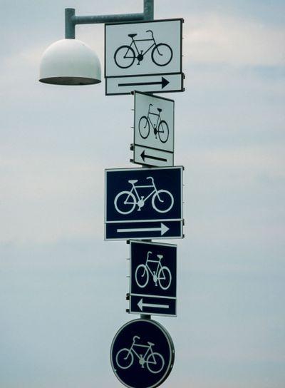 Hänvisade cykelbanor