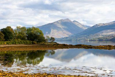 Loch Fyne in October sun
