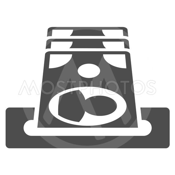 Payment Terminal Flat Vector Icon