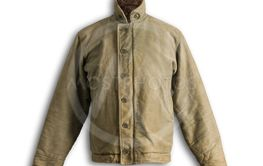 Vintage N1 Army Deck Jacket Front Shadow on White...