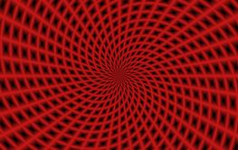 Spiral Rays in Red