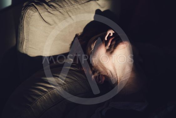 Mature woman in pain