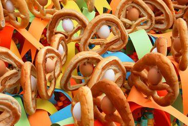 prezeln on sticks