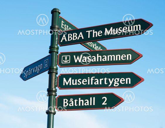 Vägvisare ABBA The Museum, spårvagn, museifartygen,...