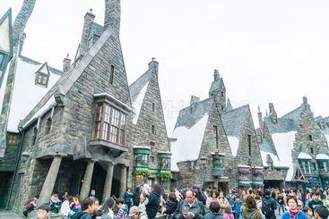 Osaka, Japan - NOV 21, 2016: The Wizarding World of Harry...