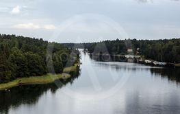 Vy från Vätö bro