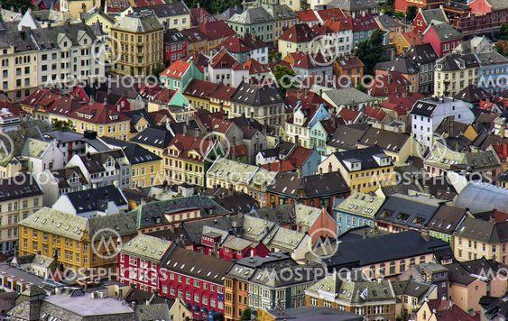 Architecture of Bergen, Norway