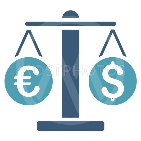 Currency Weight Flat Vector Icon