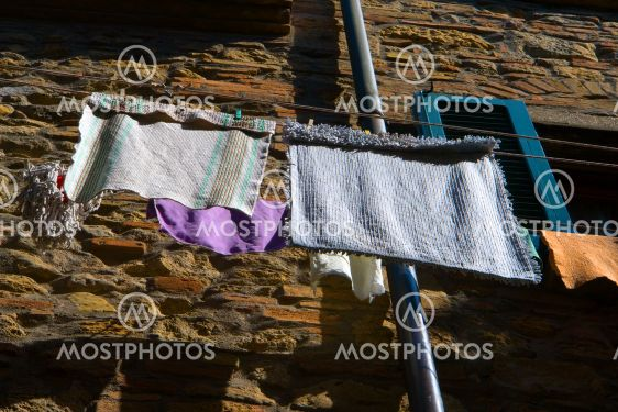 Laundering at the house, Tuscany