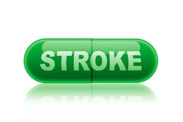 Medicinkapsel, läkemedel för behandling av sjukdom stroke.