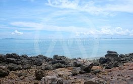Coastal in Chonburi Province day time of Tourist...