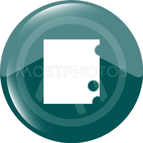 abstract stamp on web icon, web button isolated on white...