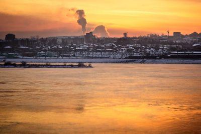 Sunset over Angara