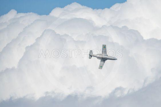 SK 60E SAAB 105 in the airshow at Orebro airport