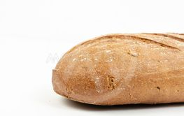 Chrono Healthy Bread Isolated Above White Background