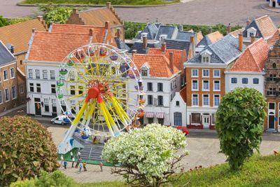 Miniature town scene, Netherlands