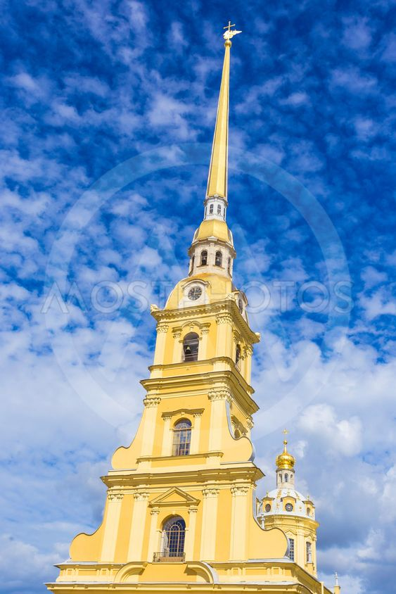 The Peter and Paul cathedral in Peter and Paul...