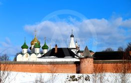 Bright photos of the ancient fortress of the Orthodox...