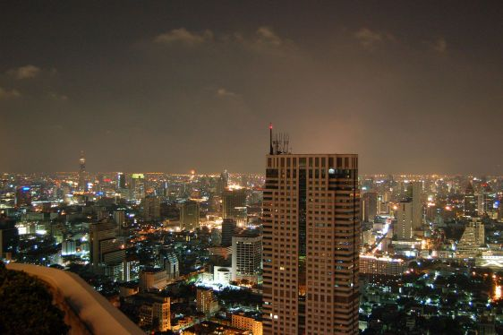 Utsikt över storstad2
