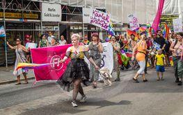 Feministiskt Initiativ på pride 31