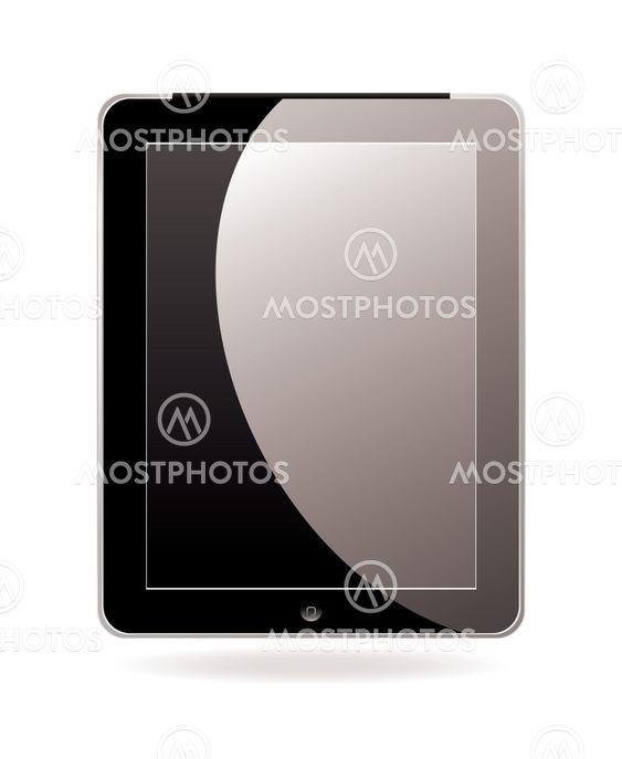 Computer tablet black