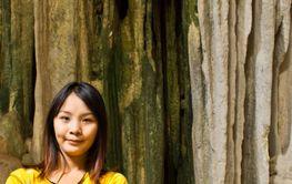 Yim Siam Thai Girl In Cave 3