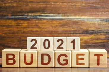 Blocks Budget 2021. Budget planning for next year....